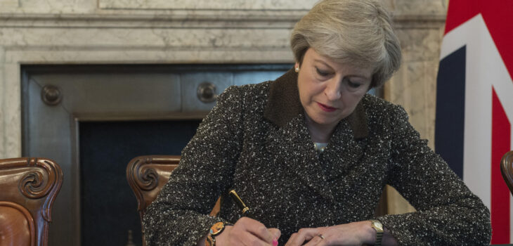 Letter of Notification from the Prime Minister to the President of the European Council setting out the United Kingdom's intention to withdraw from the European Union